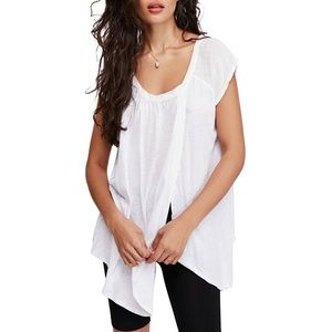 NWT Keep It Casual Tunic Free People OVERSIZED L